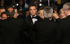 Hollywood News: Rob Pattinson Attends 'The Rover' Cannes Premiere (May 18, 2014)