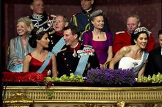 Four Danish tiaras all at once, enjoy!
