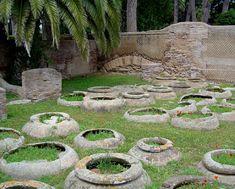 """""""wine cellars"""" in Ostia Antica, Italy"""