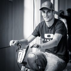 Joris Daudet - Champion du monde de BMX race   portrait réalisé durant Bordeaux BMX 2012   Sebastien Huruguen Photographe