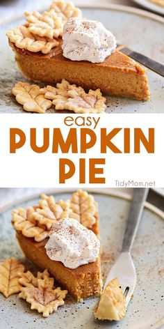 Everyone can make homemade pumpkin pie! With a rich, spiced pumpkin filling this easy pumpkin pie recipe is packed with flavor. Use a homemade or store-bought crust, mix the filling and bake. It's that easy! Don't forget fresh whipped cream on top! Thanksgiving pie never looked this good or so easy! #pumpkin #pumpkinpie #pie #pierecipes #thanksgiving #thanksgivingrecipes #homemade #fromscratch