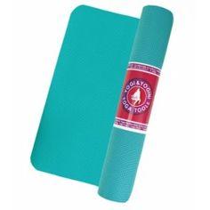 Yogi & Yogini yogamat turquoise - cm - 1250 g - Meditatie Gym Mats, Yoga Tips, Yoga Routine, Hot Yoga, Poses, Turquoise, Stress, Gymnastics Mats, Figure Poses