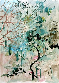 Es schneit! Cool Stuff, Abstract, Artwork, Paint, Seasons Of The Year, Sketches, Artworks, Landscape, Summary