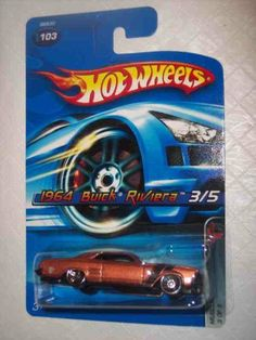 Muscle Mania Series #3 1964 Buick Riviera Copper With Hood Tampo #2005-103 Collectible Collector Car Mattel Hot Wheels by Hot Wheels. $1.00. Perfect Hot Wheels Diecast for every collector!. Great Investment For Any Hot Wheels Collector.. A Perfect Addition To Any Hot Wheels Collection!. Fun For All Ages! Serious Collectors And Kids Alike!. Diecast Metal Hot Wheels Car Perfect For That Hot Wheels Collector!. Muscle Mania Series #3 1964 Buick Riviera Copper With Hood Tampo #2005-...
