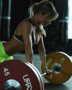 Female Form #StrongIsBeautiful #Motivation #WomenLift2 Paige Hathaway