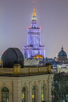 Palace Of Culture And Science, Warszaw, Poland