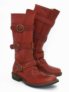 the search for the perfect red boot continues...