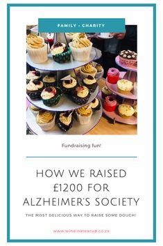 We SMASHED our fundraising target for the Alzheimer's Society! YEY!