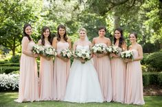 Photography : Theo Milo Photography | Floral Design : Design Perfection | Bridesmaids Dresses : Jenny Yoo | Wedding Dress : Anne Barge Read More on SMP: http://www.stylemepretty.com/north-carolina-weddings/wilmington-nc/2015/10/02/classic-black-tie-north-carolina-coast-wedding/