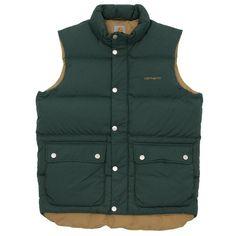 Carhartt Raleigh Vest (Cedar & Carhartt Brown)