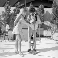 At the Hollywood Bowl on August 18, 1967 in Los Angeles.  Tumblr