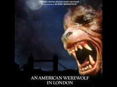 AN AMERICAN WEREWOLF IN LONDON Soundtrack Score (Elmer Bernstein) (+play...