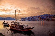 Rio Douro e vista da Ribeira  por Manuel Meneses