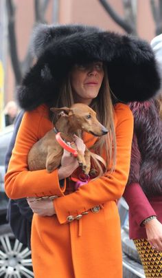 #annadellorusso #fashion #Milan #streetstyle #marcjacobhat #dsquared2coat