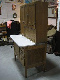 Hoosier Cabinet, Antique furniture