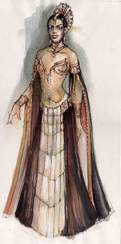 The Vampire Chronicles Photo: Akasha - costume concept art Movie Costumes, Cosplay Costumes, Halloween Costumes, Concept Art, Character Concept, Character Design, Vampires, Werewolf Hunter, Queen Of The Damned
