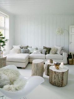 Bekijk de foto van Liesje-e met als titel Woonkamer wit met bruin tinten en andere inspirerende plaatjes op Welke.nl.