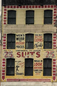Fading and Beautiful Ghost Signs in New York City