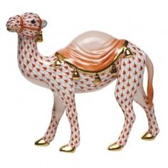 Herend Wandering Camel - Rust