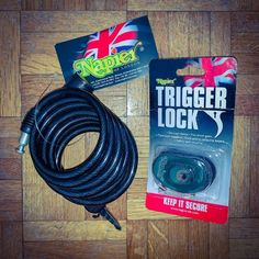 Christmas Bundle 14 - Napier Cable Lock and Napier Trigger Lock - the ultimate in security while travelling! Gun security, gun safety, travelling with your gun safely, staying in a hotel with your gun Clay Pigeon Shooting, Shooting Equipment, Shooting Accessories, Fun Days Out, Modern Artwork, Cable, Guns, British Country, House Styles