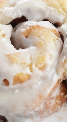 Flaky Buttermilk Biscuit Cinnamon Rolls