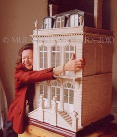 Dollhouse Miniatures : Mulvany & Rogers dollhouse Share, Repin, Comment - Thanks!