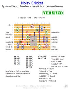 93f197c275c5f7b206de8154afa90fae audio engineer guitar pedals diy layout creator free multi platform schematic, layout and guitar wiring diagram creator at n-0.co