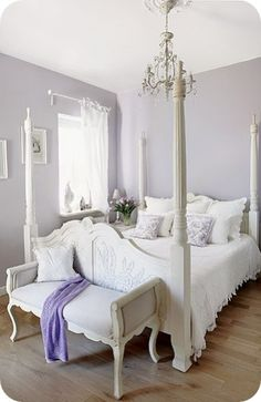 Lavender white. From the White Poetry card