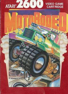 """Juego para la consola Atari 2600 ( prototipo ) """" MOTORODEO """" ( CX 26171 )"""