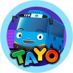Hasil gambar untuk tayo el pequeño autobus tarjeta Games For Kids, Diy For Kids, Tayo The Little Bus, Cake Templates, Brave Quotes, Birthday Template, 2nd Birthday Parties, Party Themes, Party Ideas
