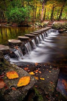 Beautiful creek crossing
