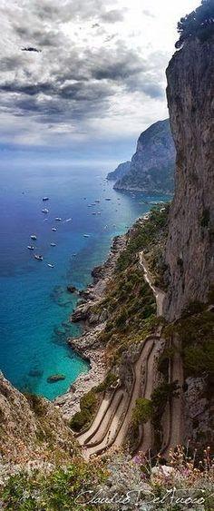 De Italiaanse kust.
