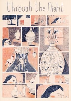 PAGE ONE A mini short story for LOAF MAGAZINE issue one, with the theme of 'fears' by Melissa Castrillon