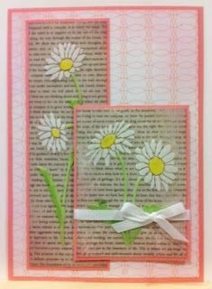 Artfully Articulate: Fresh as a Daisy! Created by Louise Healy for Dreamweaver Stencils.