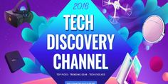 2016 Tech Deals: VR Headsets, Drones, Phones, TV Boxes, Accessories, and More
