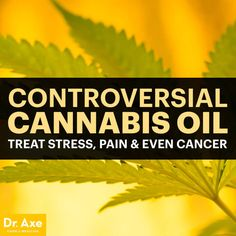 Controversial Cannabis Oil: Treat Stress, Pain & Even Cancer - Dr. Axe