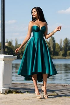 satin prom gown custom made evening dress CR 7209 - ++Sexy Long Prom Dresses++ Elegant Dresses, Pretty Dresses, Sexy Dresses, Beautiful Dresses, Formal Dresses, African Fashion Dresses, African Dress, Dress Fashion, Homecoming Dresses