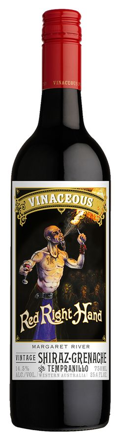 vinaceous red right hand wine | 2015 Red Right Hand Shiraz Grenache Tempranillo - Vinaceous Wines