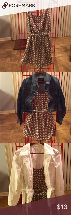 BeBop dress. Really cute BeBop dress only. Nice Fall colors. In new condition. Looks great with jackets and western boots. Size medium. Happy shopping. BeBop Dresses High Low