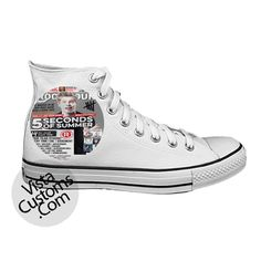 Luke 5 Seconds of Summer poster White shoes New Hot Shoes