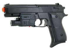 Refurbished UK Arms M-213AF Pistol FPS-180 Spring Airsoft Gun