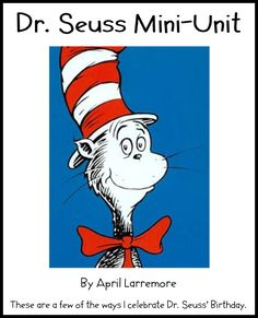 Lessons for Dr. Seuss Books (ABC Class Book, Wacky Wednesday, Oobleck, Oh The Places You'll Go)