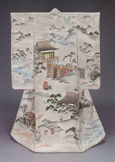 19th century uchikake via The Museum of Fine Arts, Boston.  In my Brooklyn teachin'  we called it a Kimono.