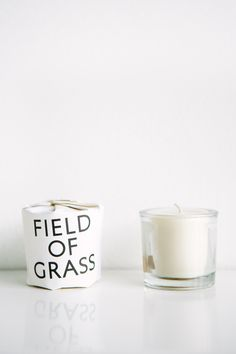 Tantine Candle Field Of Grass Candle – Parc Boutique