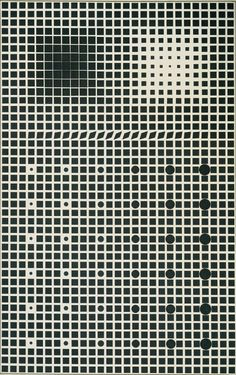 Supernovae by Victor Vasarely around 1960. (via littlespectacle)