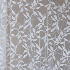 Lace Fabric White Small Branch Leaves Soft Lace Wedding Fabric 59'' width 1 yard. $8.99, via Etsy.