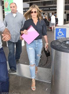 Jennifer Aniston at LAX airport on June 23, 2017
