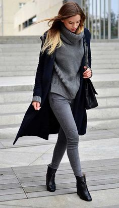 Gray and navy
