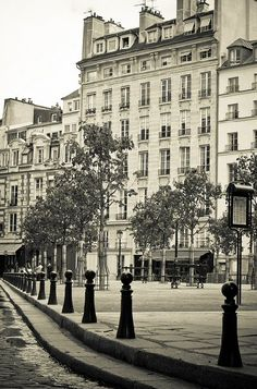 place Dauphine - Paris 1er  Dauphine is my family name & loved going here