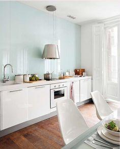 Make Them Wonder ; Back Painted Glass for Kitchen back splash